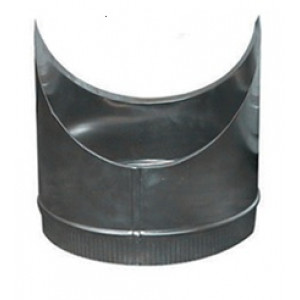 T-Stuk Los Aluminium Rond Diameter Ø 100 mm