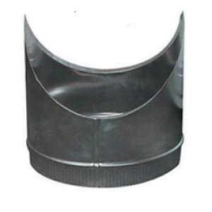 T-Stuk Los Aluminium Rond Diameter Ø 130 mm