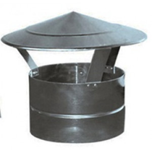 Dakkap Aluminium / Chinezen Hoed Rond Diameter Ø 550 mm