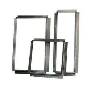 Aluminium Flens / Aansluitstuk Vierkant 150x150 mm