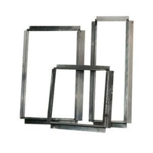Aluminium Flens / Aansluitstuk Vierkant 450x450 mm