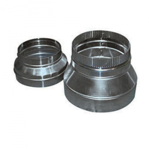 Verloopstuk Aluminium Symmetrisch Ø 250x200 mm