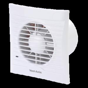 Azur 125H Met vochtsensor WC-BadkamerVentilator