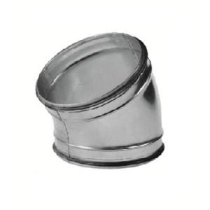 Spiro bocht 30 graden Ø 150mm (SAFE)