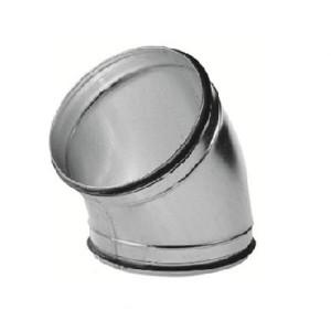 Spiro bocht 45 graden Ø 125mm (SAFE)