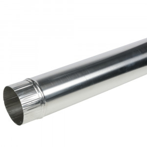 Luchtkanaal Aluminium Rond Diameter Ø 120 mm x 1 Meter