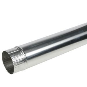 Luchtkanaal Aluminium Rond Diameter Ø 130 mm x 1 Meter
