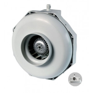 Can-Fan buisventilator RK S 200 830m3/h 200mm met snelheidsregelaar geïntegreerd