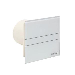 Badkamerventilator glass design E-100GS (zilver)