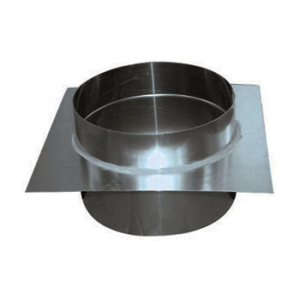 Aluminium Dakdoorvoer Recht Diameter Ø 250 mm