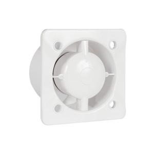 Design badkamer/toiletventilator AW125 + Ingebouwde trekkoordschakelaar