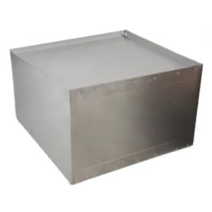 Luchtverdeelbox (dicht) 550x550x250mm