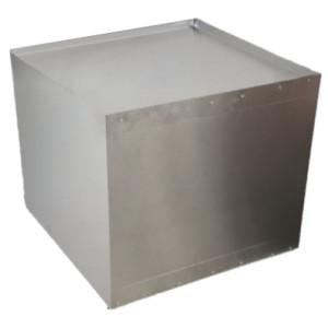 Luchtverdeelbox (dicht) 350x350x350mm