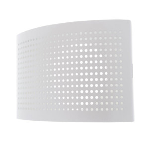 Stille luchttoevoerventiel wit diameter 100