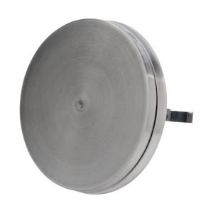 Stille design toevoerventiel RVS diameter 100