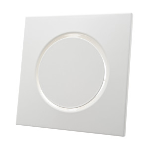 Design toevoerventiel vierkant wit diameter 100