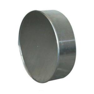 Aluminium Eindddop Rond Diameter Ø 180 mm