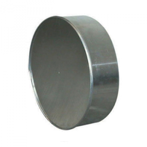 Aluminium Eindddop Rond Diameter Ø 250 mm