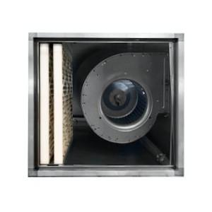 Filterkast 2000m3/h met doosfilter L800xH570xD670mm