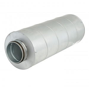 Geluiddemper voor spirobuis Ø 100mm L 900mm  (GGLX 50S)