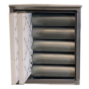 Geurfilterkast zonder motor | 20 koolstoffilters