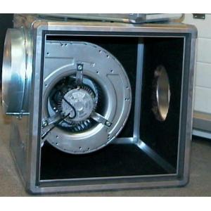 Ventilatiekast zonder motor 630m x 630mm (Ongeïsoleerd)