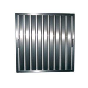 Lamellenfilter B400xD400xH25 RVS 430