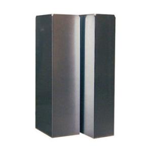 Luchtkanaal Aluminium Vierkant 250x250 mm 1 meter