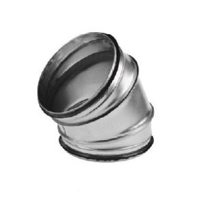Spiro bocht 45 graden Ø 315mm (SAFE)