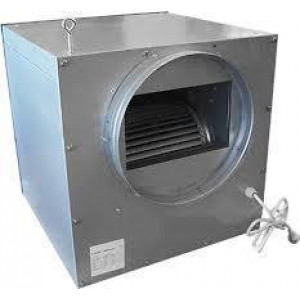 Spirototaal stalen ventilatorbox 3250m3