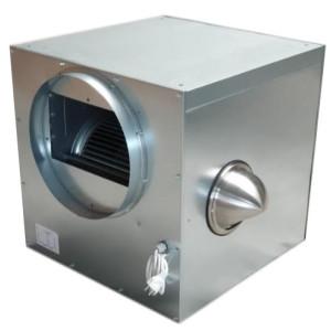 Stalen Ventilatorbox 6000m3 luchtgekoelde elektromotor