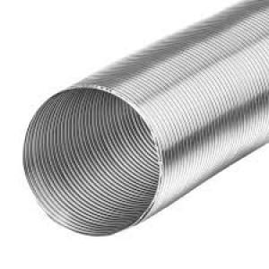 Starre aluminium ventilatieslang Ø 125mm