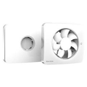 Svensa | Badkamerventilator met timer, geur-, vocht- en lichtsensor | 100-125mm (app-gestuurd)