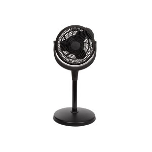 Tafel- en statief ventilator - 20cm - zwart