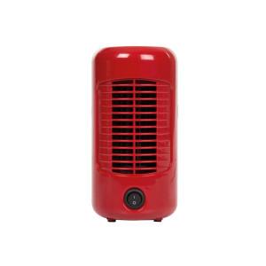 Tafelventilator retro - Ø 20 cm - rood