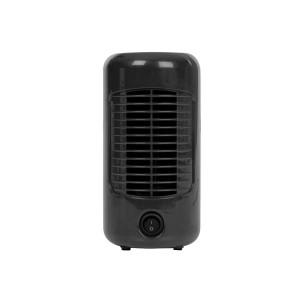 Tafelventilator retro - Ø 20 cm - zwart
