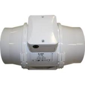 Buisventilator TT125T 220/280m3/h Ø 125mm met naloop timer