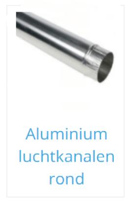Aluminium luchtkanaal rond