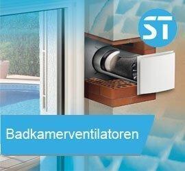 Badkamerventilatoren