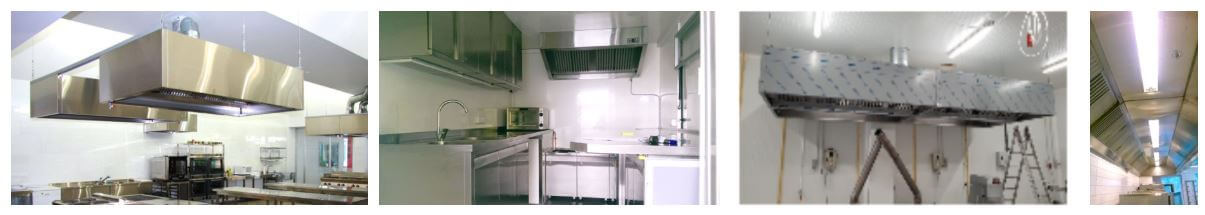 Afzuigkap installatie horeca keuken