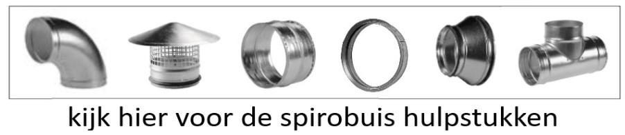 Spirobuis hulpstukken button