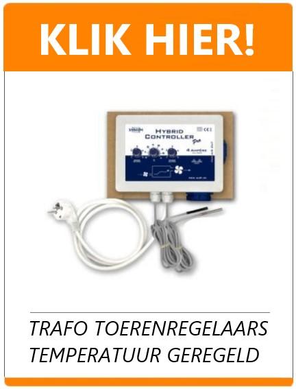 transformator regelaar temperatuur geregeld