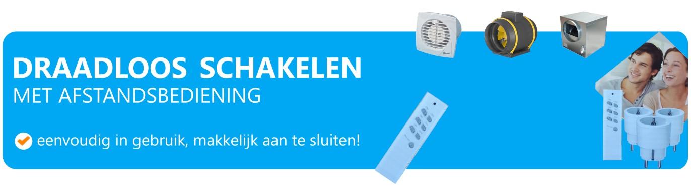Ventilator afstandsbediening